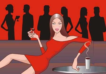 femme seule cam